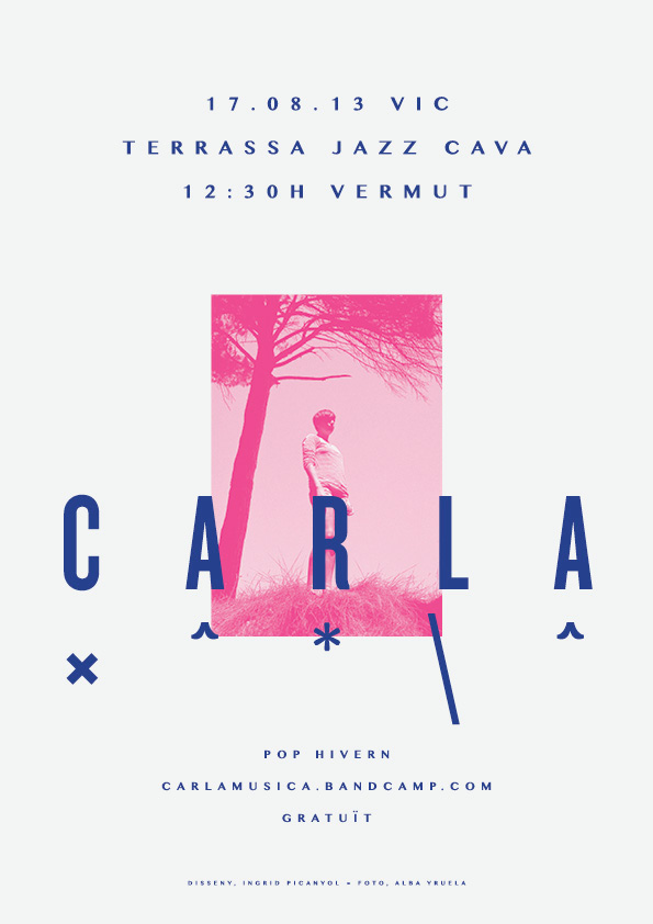 CARLA | Posters by Ingrid Picanyol