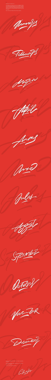 Christmas Сalligraphy Set by Nick Asphodel