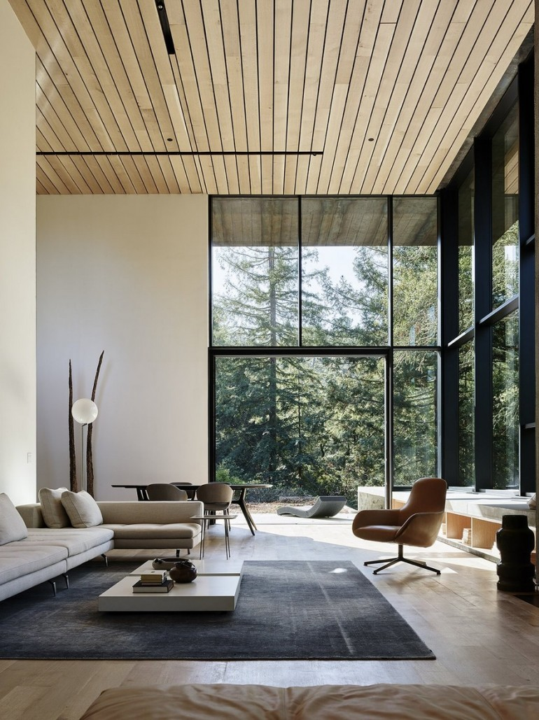 CorTen Steel House in Northern California / Faulkner Architects