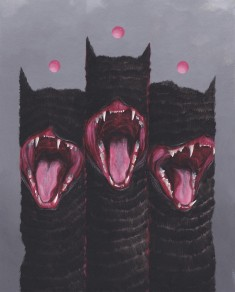 Mewberus .. Gouache on Paper