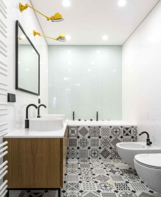 Bathroom Design by Interjero Architektura