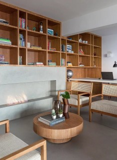 Natural Materials Create a Warm and Peaceful Family Apartment in Sao Paulo