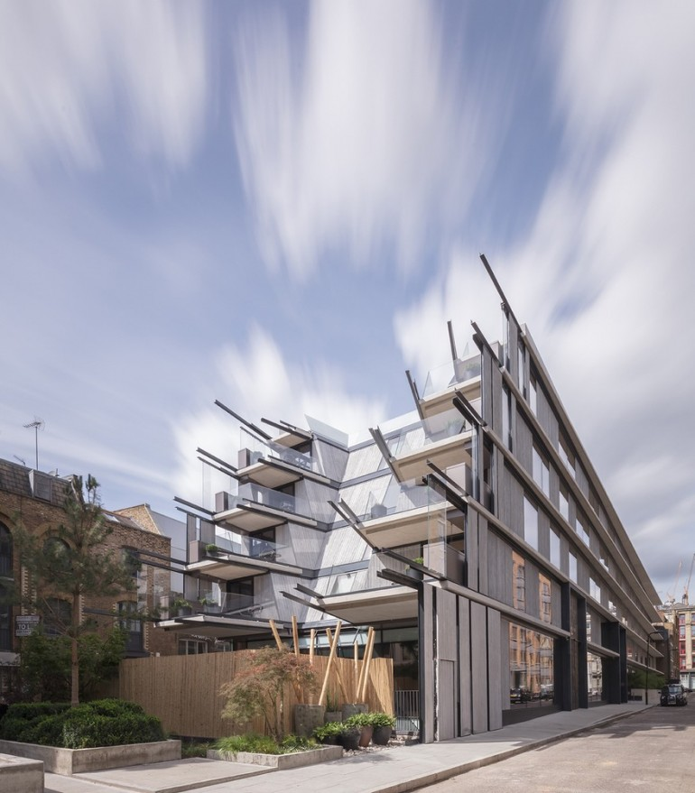 Nobu Hotel in London by Ben Adams Architects