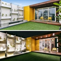 ROOFTOP SHIPPING CONTAINER STUDIO