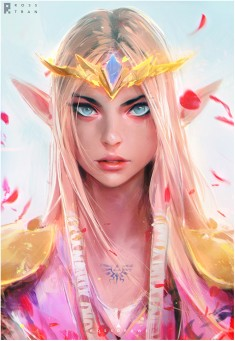 Princess Zelda by Ross Tran