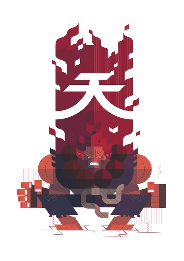 Street Fighter Fan Art by Phu Twenty