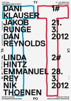 ON-TYPE Texte zur Typografie, Poster by Marcel Haüsler