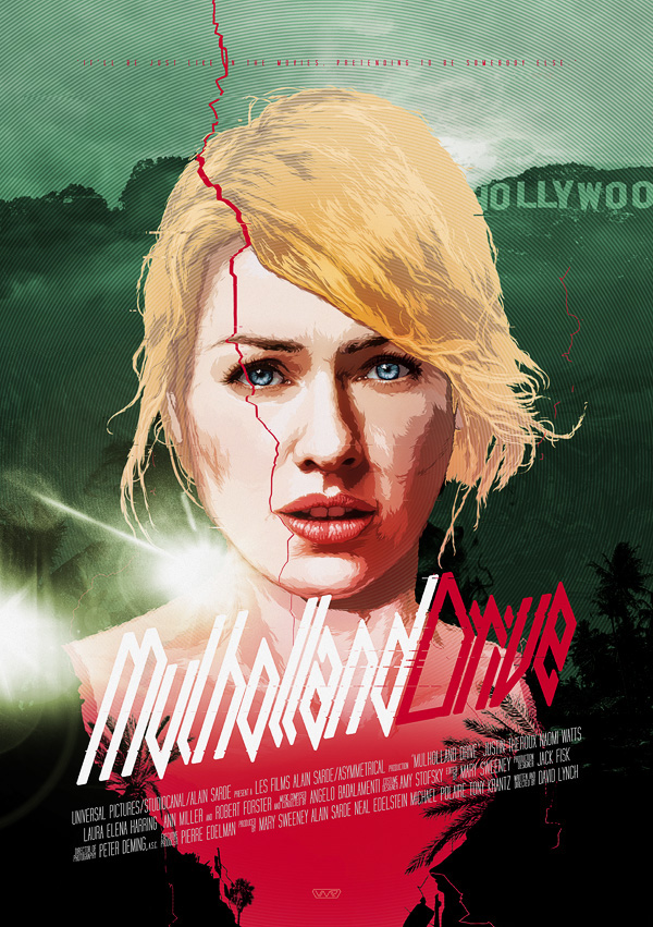 MULHOLLAND DRIVE / Vector Movie Posters vol.2