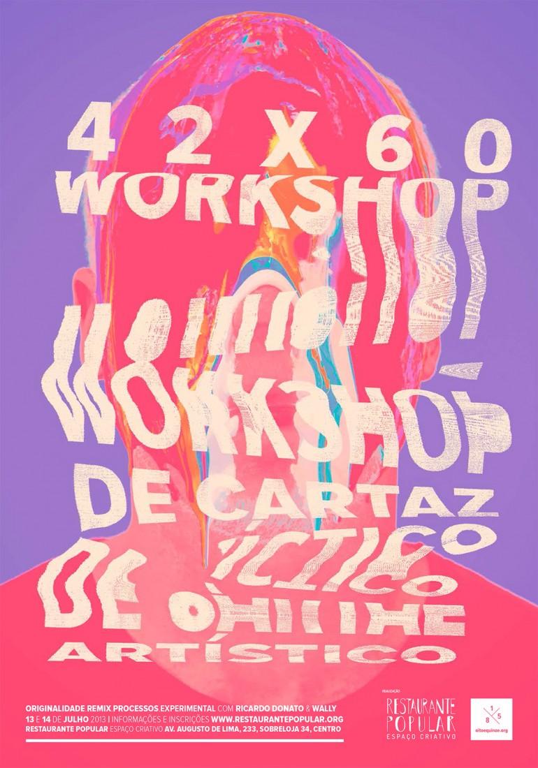 42×60 – Artistic Poster Workshop by Marcelo Batista de Oliveira