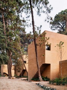 Five Vacation Houses in the Middle of the Forest in Valle de Bravo, Mexico