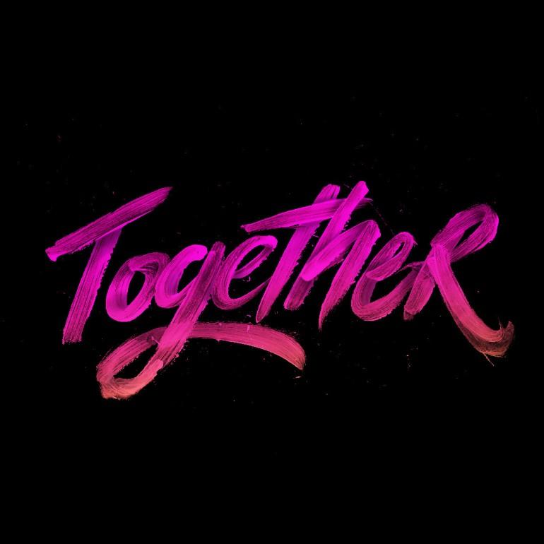 Together – Hand Lettering Vol. 7
