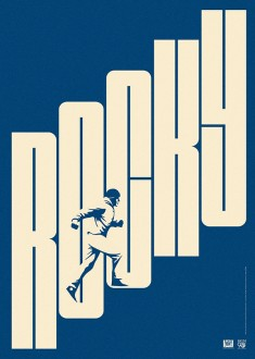 Rocky film poster.