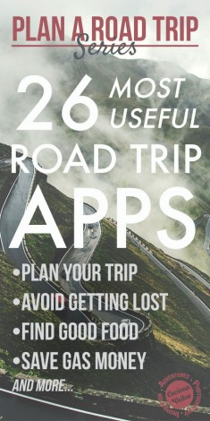 26 Most Useful Apps for a Road Trip