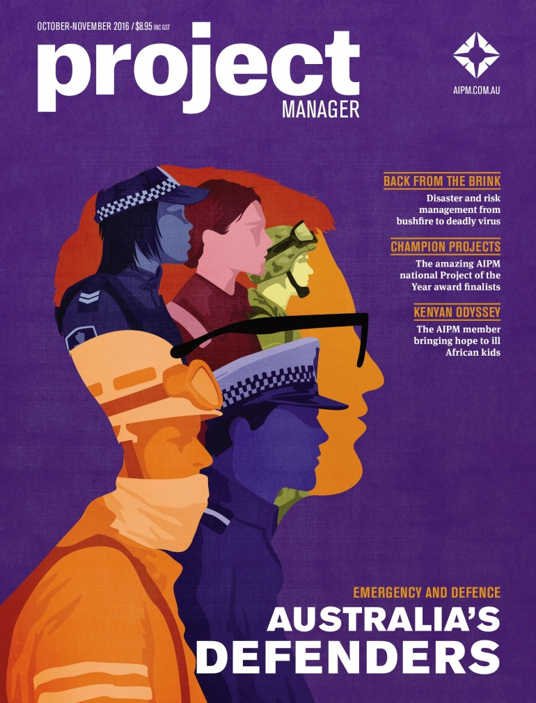 PROJECT MANAGER – AUSTRALIA'S DEFENDERS