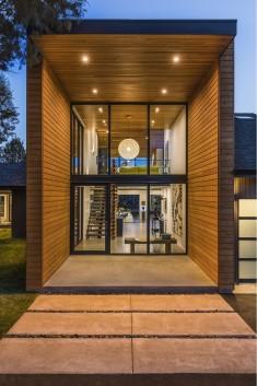 Redmond Ranch Gets Three Modern Additions and Stylish Interiors