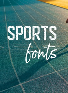 The Best Sports Fonts for Athletic, Gym & College Designs