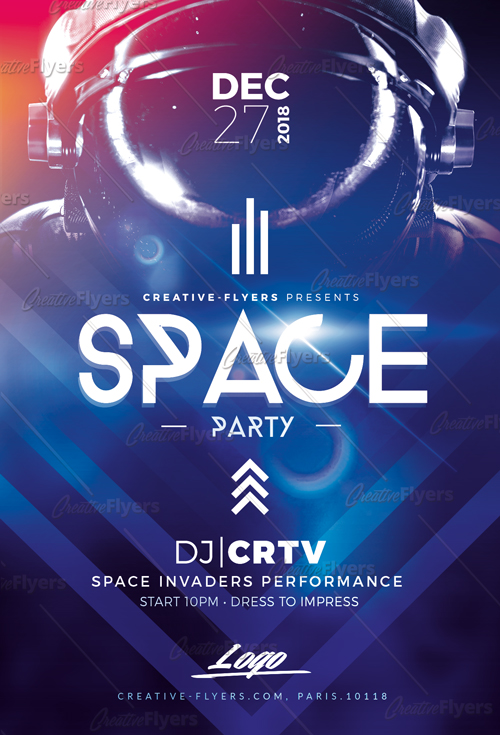 Space flyer templates
