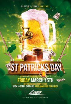 St Patrick's Flyer Templates