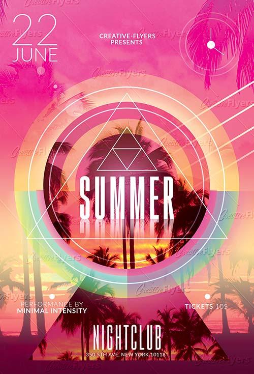 Minimalist Summer Templates