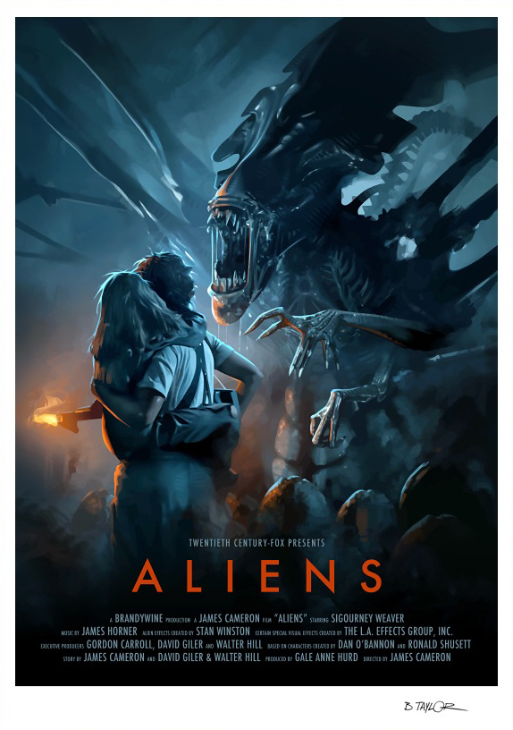 'Aliens' by Brian Taylor