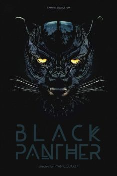 All hail Bast, the Panther god! Black Panther alternative movie poster
