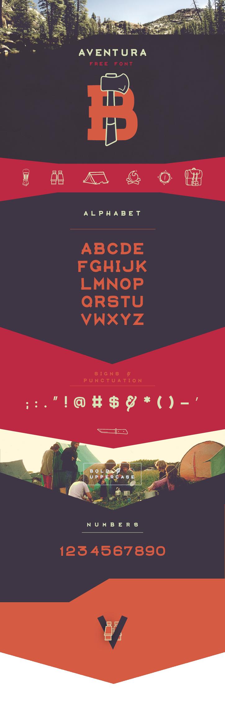 AVENTURA – Free Typeface