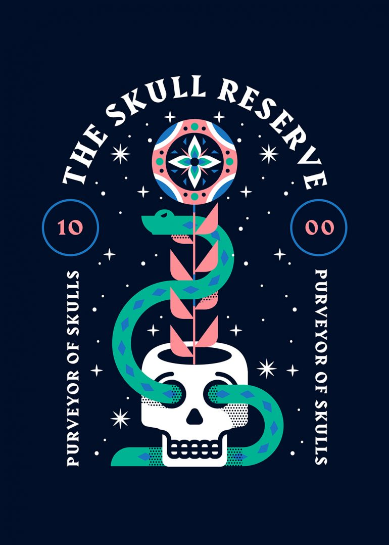 The Skull Reserve by Adam Grason