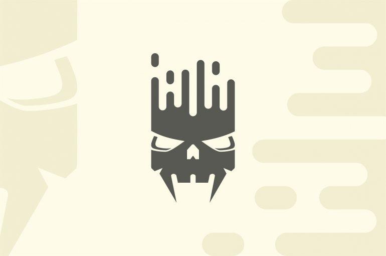 Equalizer Skull Logo