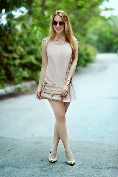 LoLoBu – Hot Miami Styles Adorable Strappy Neckline Mini Dress