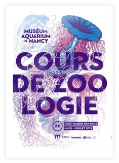 Museum-Aquarium of Nancy – 2015 – poster