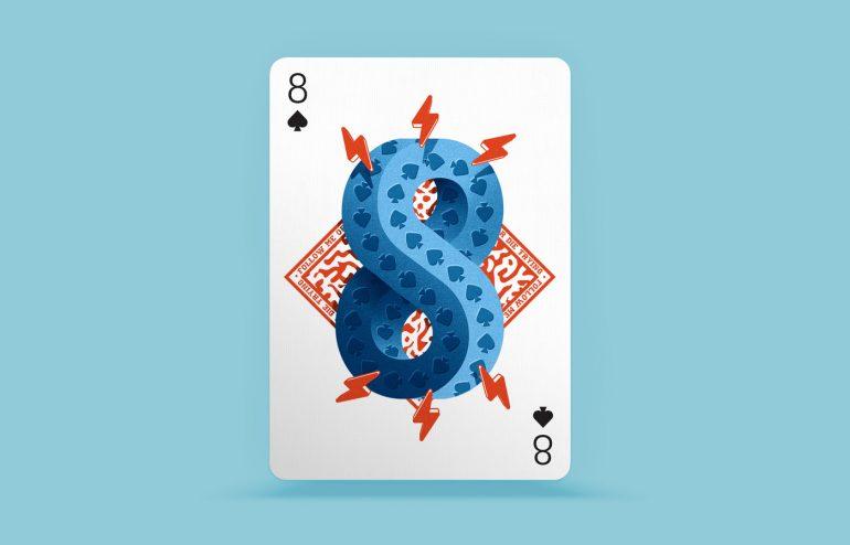 Playing Arts – 8 of Spades ♠ by Eduardo Dosuá
