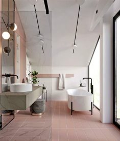 Bathroom Design Trends – Colors and Tile Ideas