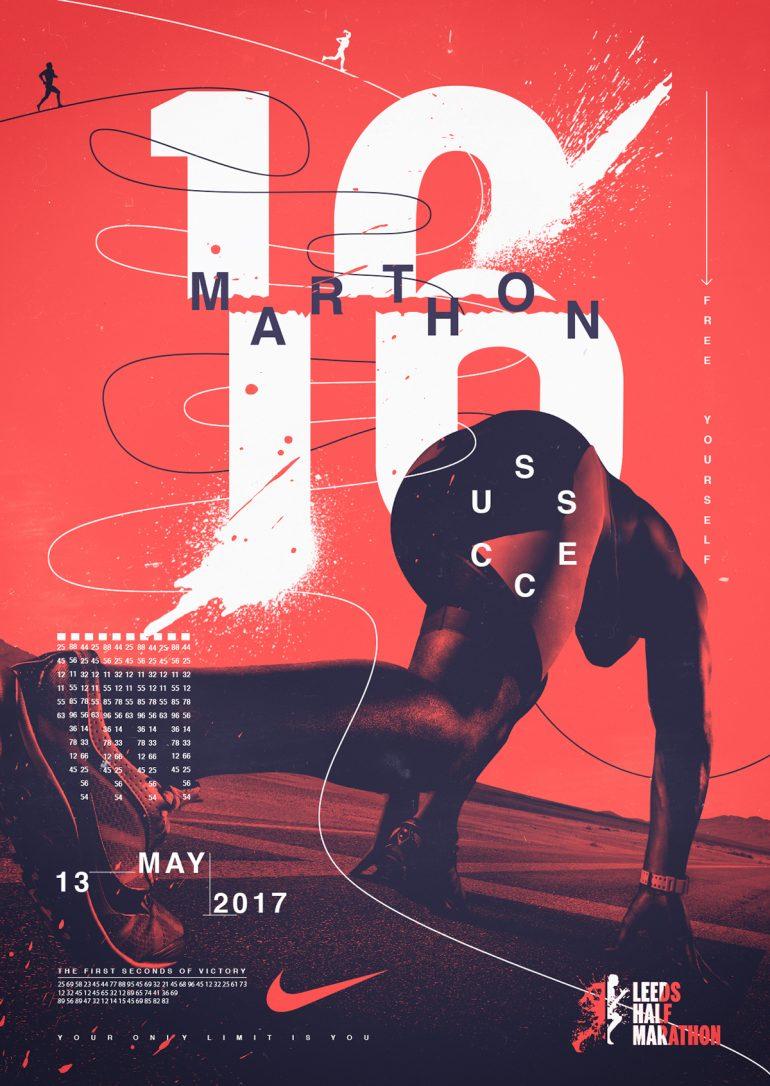 Poster Marathon Nike
