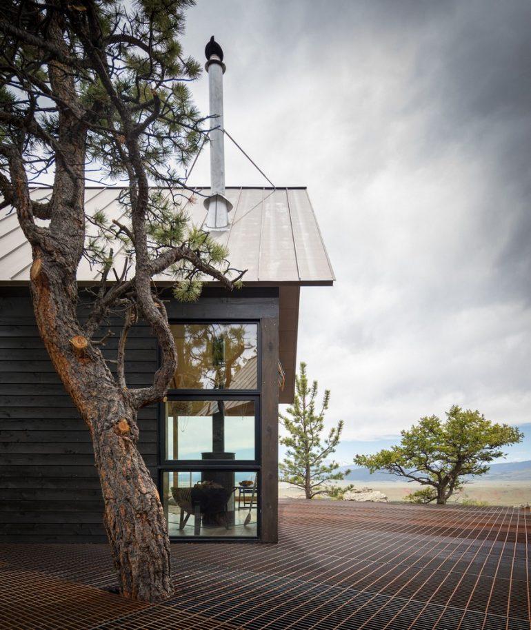 Big Cabin & Little Cabin in Colorado by Renée del Gaudio Architecture