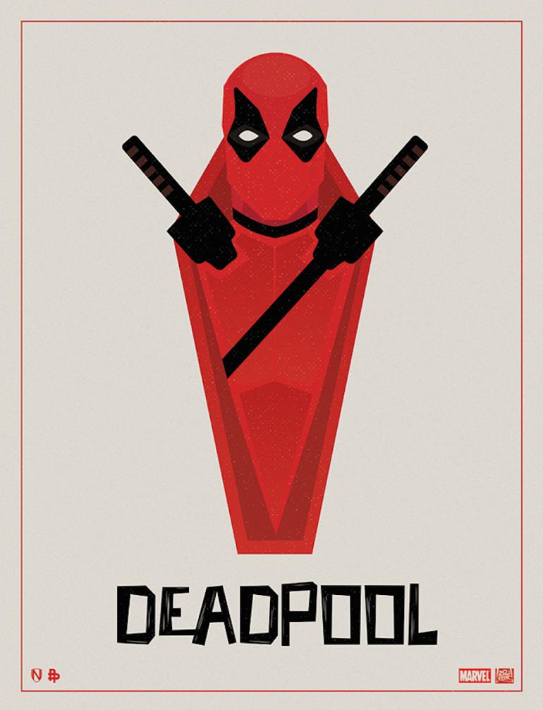 Deadpool Tribute Phase 3 by by Matt Needle