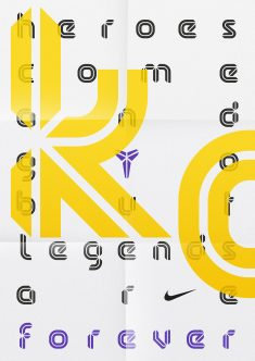 Kobe Bryant — Display Typeface