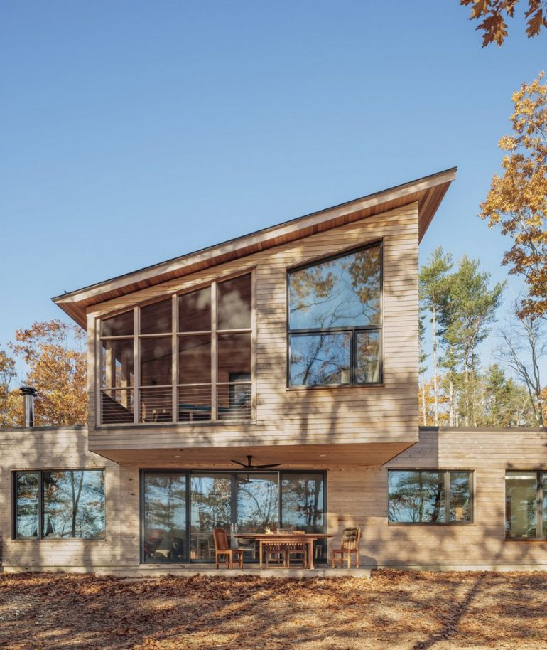 Long Reach Retreat by Kaplan Thompson Architects