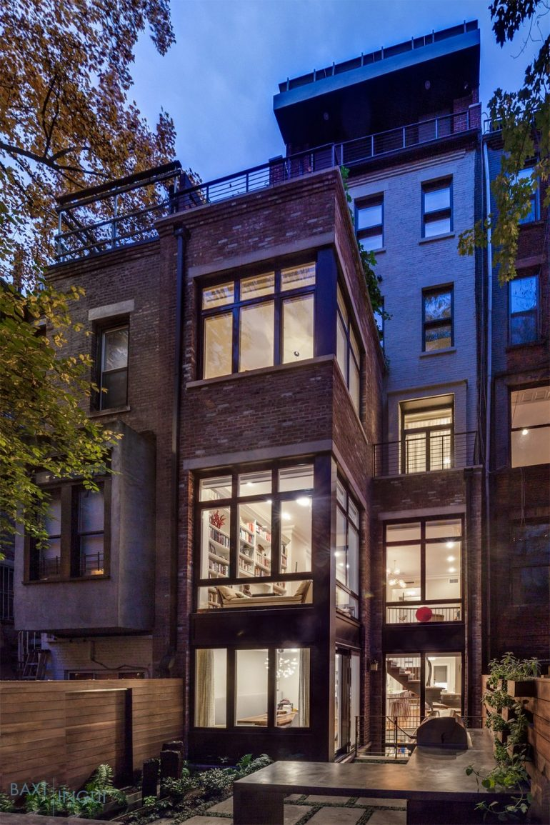 Manhattan's First Certified Passive House by Baxt Ingui Architects