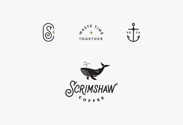 Scrimshaw Coffee by Corinne Alexandra