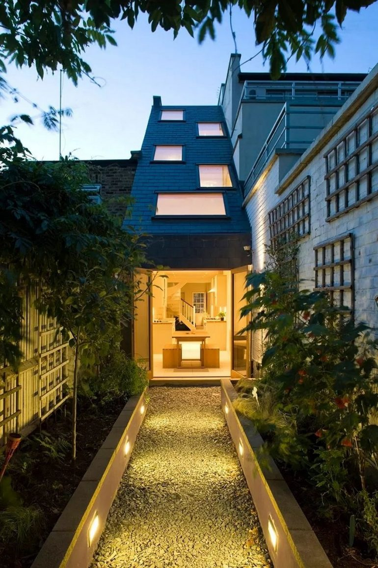 Slim House in London by alma-nac
