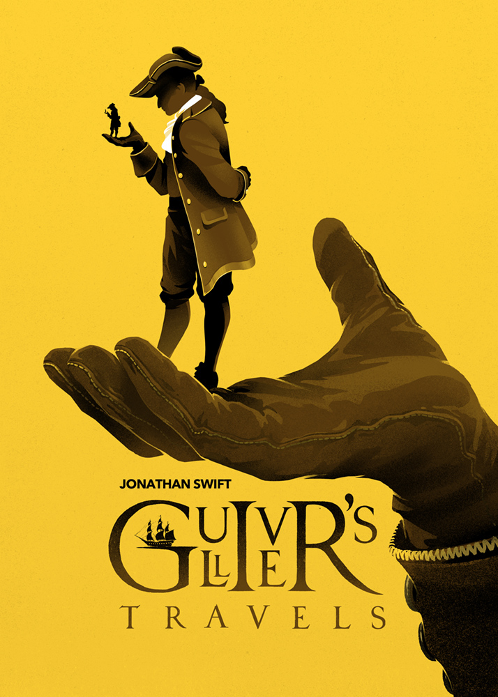 Gulliver's Travels Poster Design