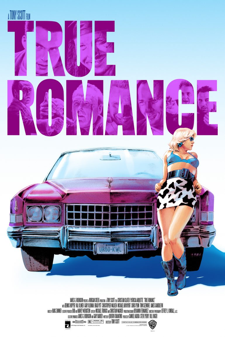 True Romance Screen Print