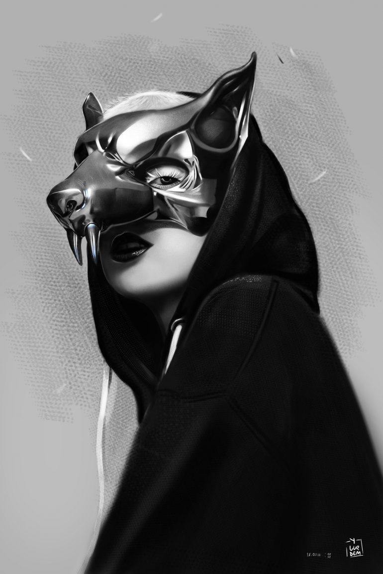 Yolandi Visser Illustration by vurdeM