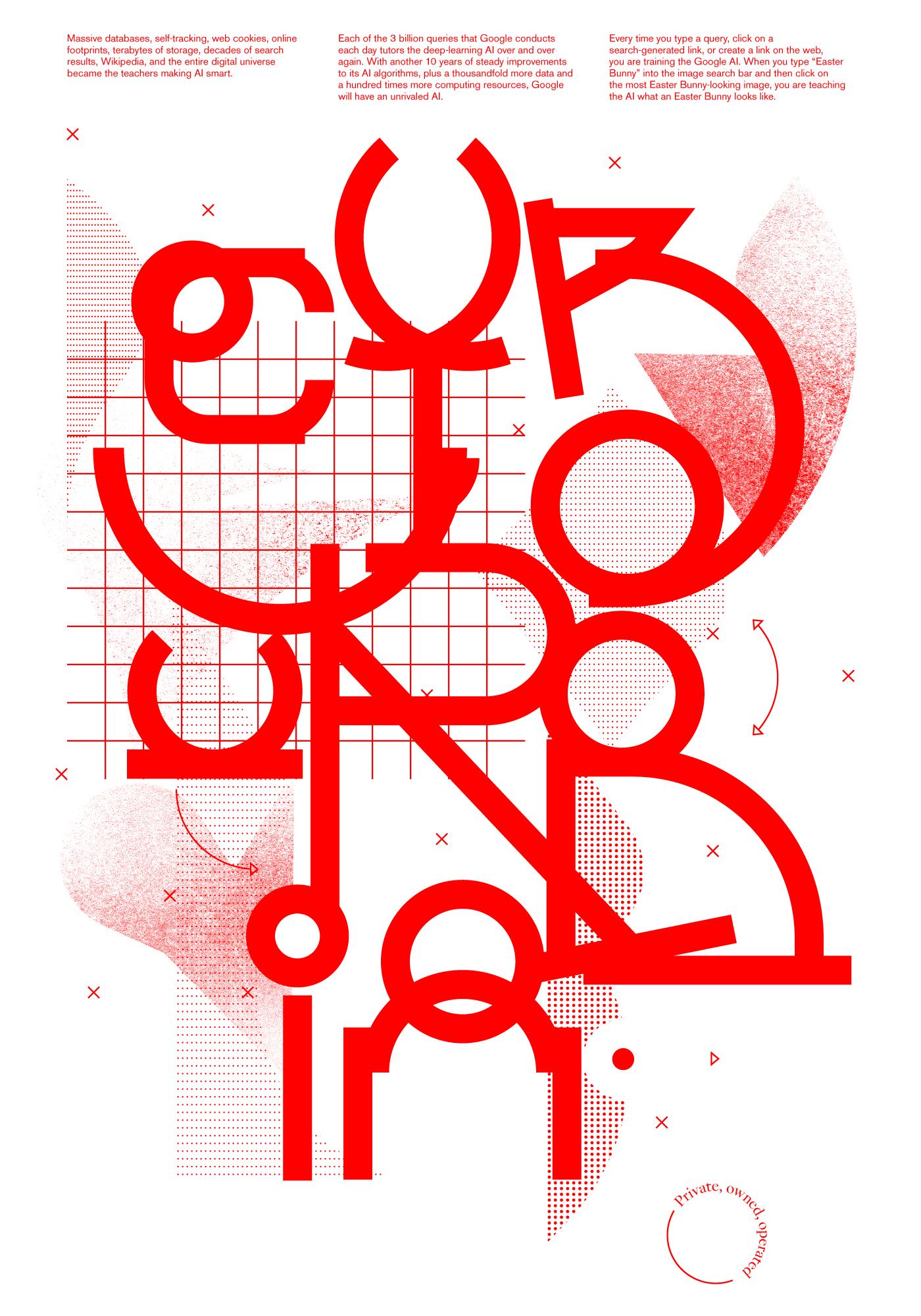 Cyburbia Poster by Andrea Dell'Anna