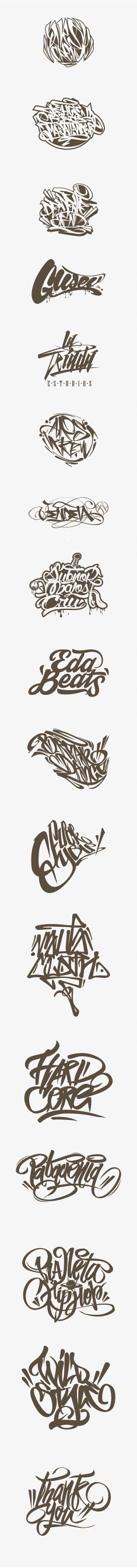 Calligraffiti – Lettering by Jorge Canicura