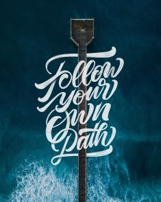 Follow your own path by Chris