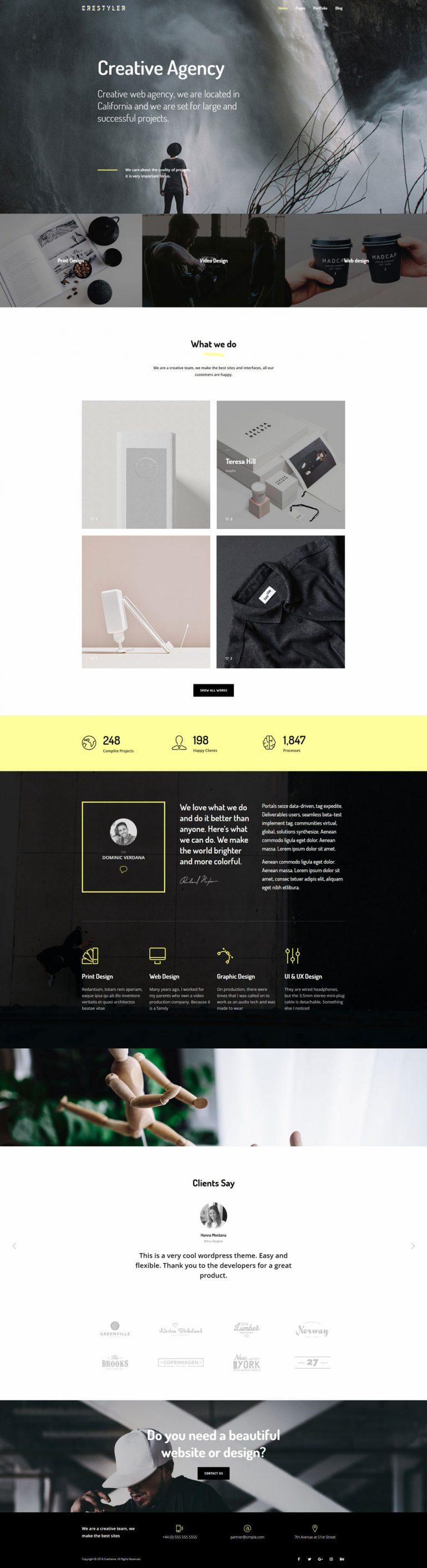 Crestyler – Creative Portfolio