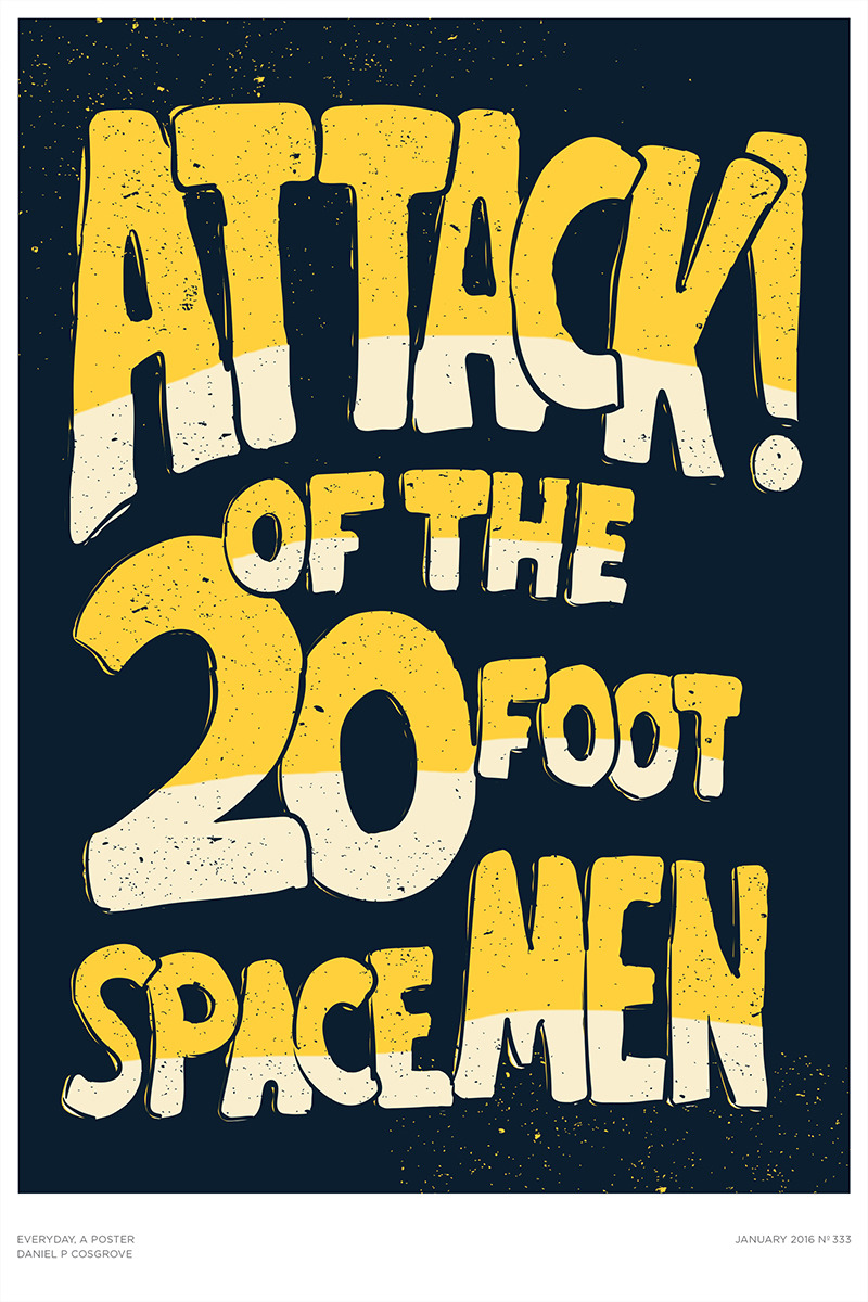 Attack! Of The 20 Foot Spacemen