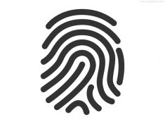 Fingerprint icon (PSD)