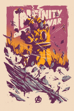 Infinity War X Screenprint